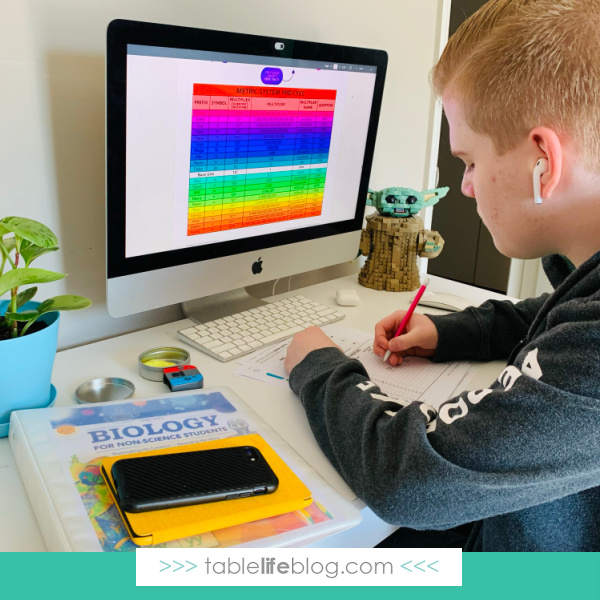 Are you looking into high school science options for your homeschooled teen? College Prep Science's Life Prep Biology class is one to add to your lineup!