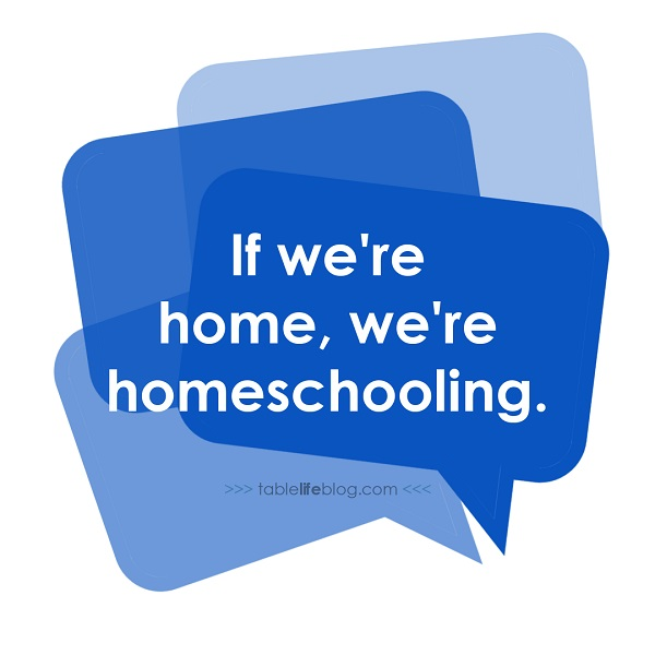 Why we don't take a summer break in our homeschool.