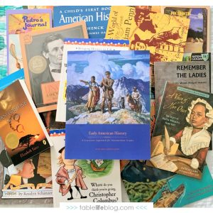 Looking into homeschool curriculum options for teaching American History? Here's what you need to know about Beautiful Feet Books' literature approach to Early American History.