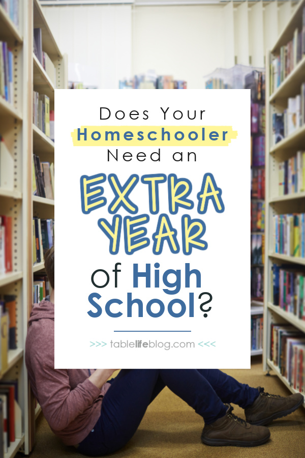 Does your homeschooler need a 5th year of high school?