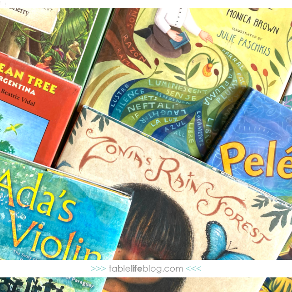 Are you building a reading list to help your kids learn about the South American countries? You're in luck. We've got a fun list of children's books about South America to share with you today.