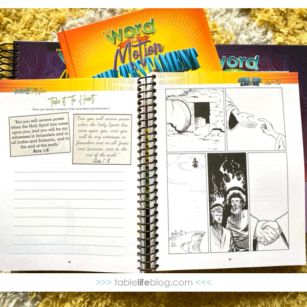 The Word in Motion: Notebooking Journal