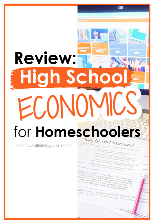Need to add high school economics to your teen's homeschool lineup? This self-paced online option from Mr. D Math has you covered!